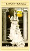 Tarot Card - High Priestess from the Mythic Deck