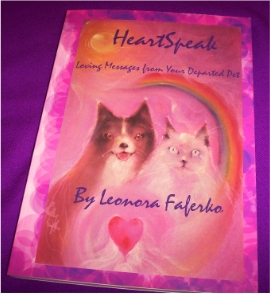 Pet Psychic Book - HeartSpeak