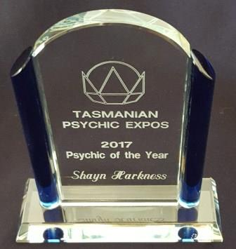 Psychic of the year - Tasmania 2017